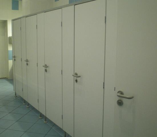 Туалетные перегородки «Нива Стандарт» в ТЦ «Алтуфьевский»