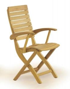 Садовая мебель из тика, Стулья, 3111-Elenor