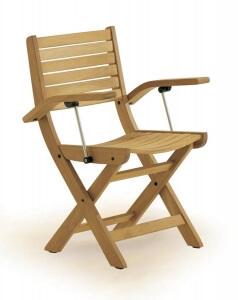 Садовая мебель из тика, Стулья, 3141-Capri