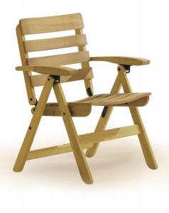 Садовая мебель из тика, Стулья, 3154-Malibu