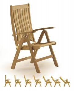 Садовая мебель из тика, Стулья, 3160-Relax