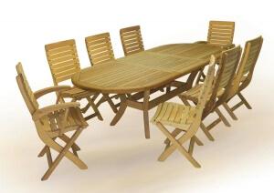 Садовая мебель, столы, 3438-viola250-1