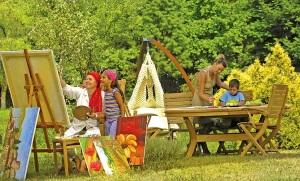 Садовая мебель, столы, 3438-viola250-2