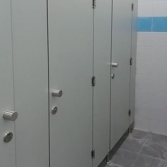 сантехнические перегородки из ЦДФ «Нива-Модерн»