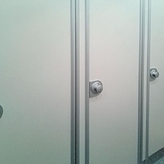 Туалетные кабины «Джамбо», аэропорт Домодедово