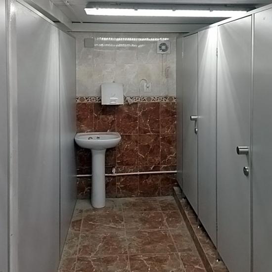 """Сантехнические перегородки """"НИва Эконом"""""""